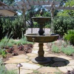 Fountain in Courtyard Setting